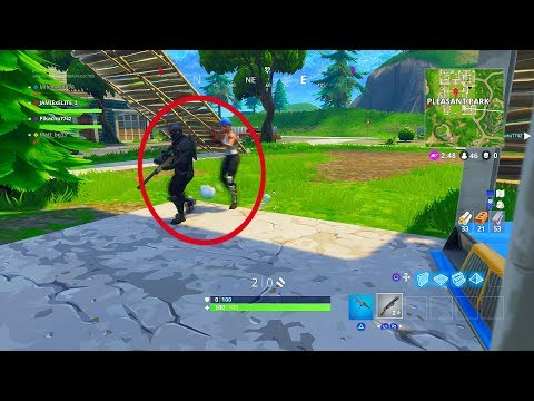 YOU WONT BELIEVE this Fortnite: Battle Royale! BUILDING GLITCH (SOLID GOLD)