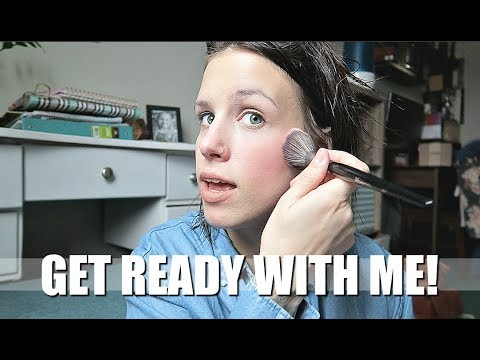 MY HUSBAND'S OUT OF TOWN! GET READY WITH ME