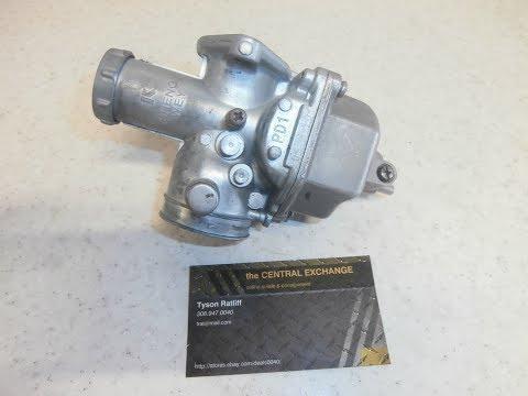 Pit Bike SSR125 SSR Carburetor -How To CLEAN, REBUILD, REPACE Float Slide Seat Fuel Gas Throttle