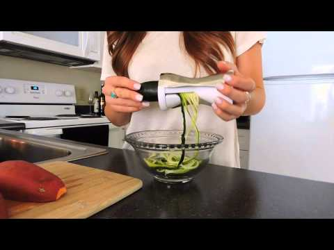 How I Make Vegetable Noodles