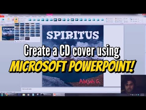 Make an album cover art using Microsoft Powerpoint 2010 [How To]