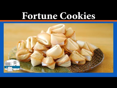 How to make your own Fortune Cookies