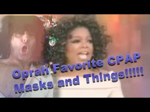 Oprah and Lefty's Favorite Things: Best CPAP Nasal Pillow, Nasal, and Full Face Mask