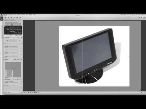 Photogaphy White Background with Aperture Luminance Curves