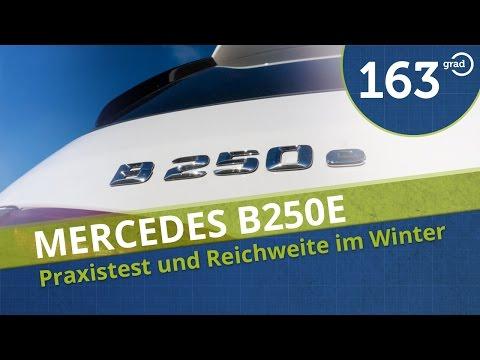 Mercedes B250e Praxistest Test Probefahrt Reichweite Verbrauch Deutsch in 4K