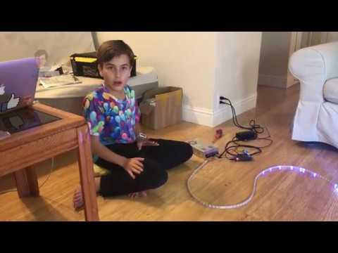 DIY Arduino-powered Christmas Lights: LED and Arduino Mega