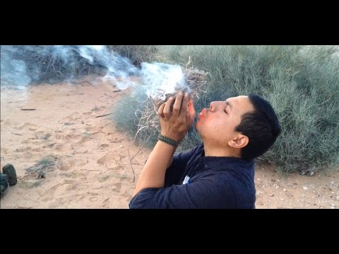 Making Char Cloth/ Flint & Steel Fire