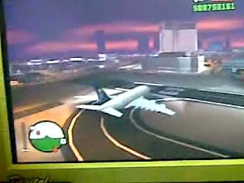 How to fly a Saudi Arabian Airlines a380 in Gta San Andreas