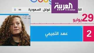 #x202b;تفاعلكم: اسم عهد التميمي في صدارة تريند تويتر#x202c;lrm;