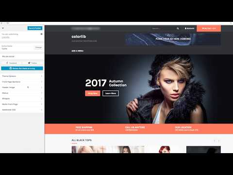 How to Setup Tyche Theme Slider on the Frontpage (Homepage)