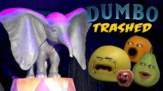 Annoying Orange - Dumbo TRAILER TRASHED!!