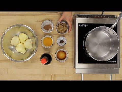 How to make Marsala Poached Pears