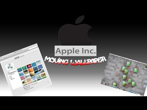 How to make custom moving wallpaper (Mac only!!)