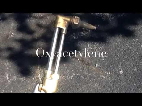 Oxyacetylene fuel cutting safety