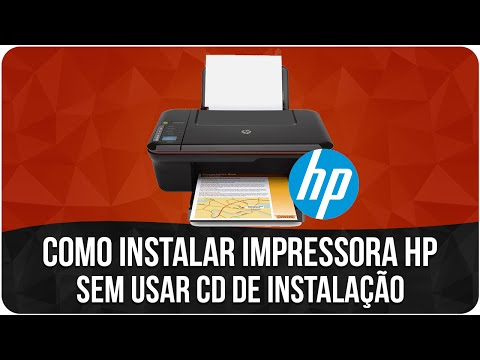Como instalar qualquer Impressora (HP) Sem usar CD