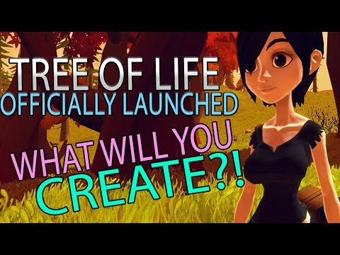 Tree Of Life - New Sandbox MMORPG Officially Launched On Steam! What Will You Create?