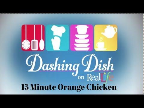 15 Minute Orange Chicken | Dashing Dish