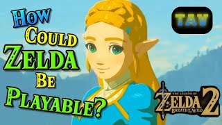 How could Zelda be Playable in Breath of the Wild 2? (Sequel Speculation Episode 2)