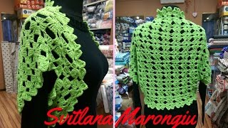 Coprispalle Rombiad Uncinetto Diamondshrug To Crochet Tube10xcom