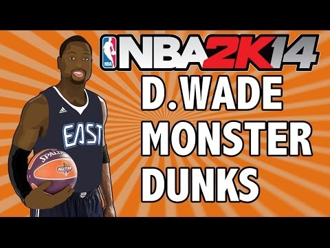 NBA 2K14 MyTEAM - D.WADE MONSTER DUNKS + Why Next Gen Has To Wait