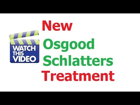 How To Treat Osgood Schlatters Disease Without Toxic Drugs