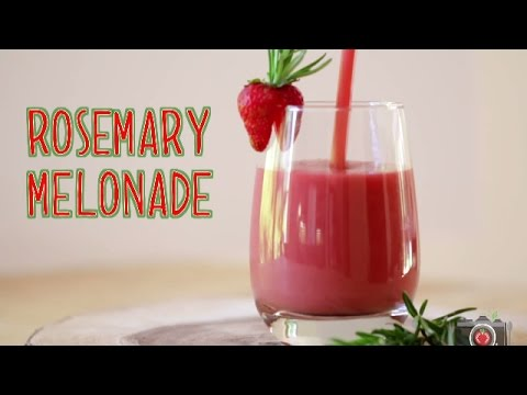 Watermelon Smoothie | Rosemary Melonade | from The Blender Girl Smoothies
