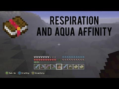 Minecraft: Respiration/Aqua Affinity Review