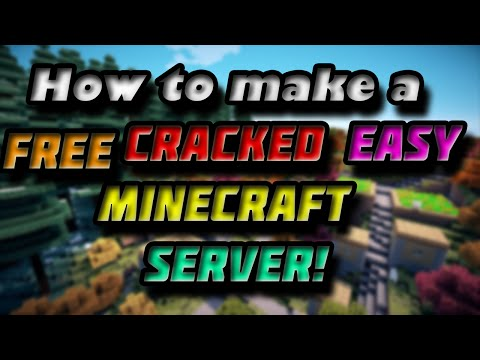 How to make a server for Cracked Minecraft 1.8.3/1.8.4 For Free! - Easy