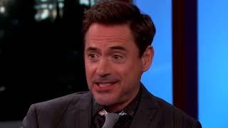 Robert Downey Jr Puts Jimmy Kimmel In his Place - Body Language Drama