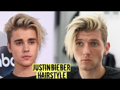Justin Bieber Hairstyle & Haircut Tutorial 2018 - Mens Long Hair Style