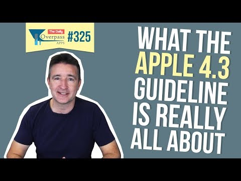 What the Apple 4.3 Guideline is Really All About