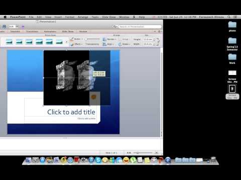How to make photos background transparent (Perfect for making PPT)