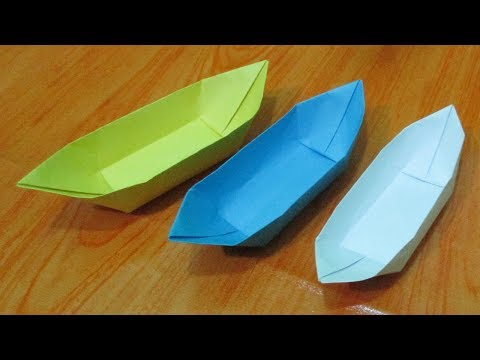Origami / How to make easy paper boat origami || DIY Instructions step by step.