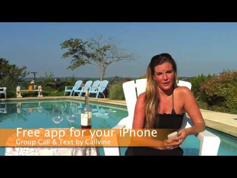 Callvine Group Text Messaging free app for your iPhone 3, 3GS or 4 on iOS4