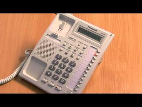 Panasonic KXTA KXTE forward calls to voicemail.mpg