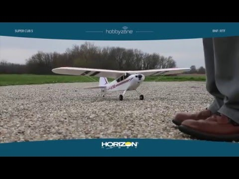 DARBRORC - Super Cub S RTF & BNF with SAFE™ Technology by HobbyZone HBZ8100