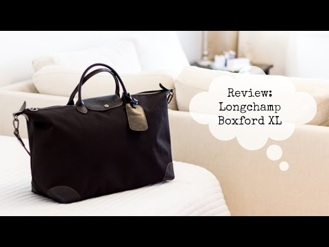 Longchamp Boxford Travel Bag XL Review
