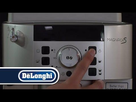 De'Longhi How To Obtain a hotter Coffee Magnifica S ECAM22.110