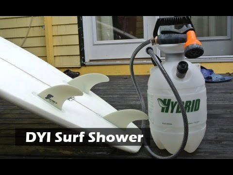 DIY Surf or Camping Shower