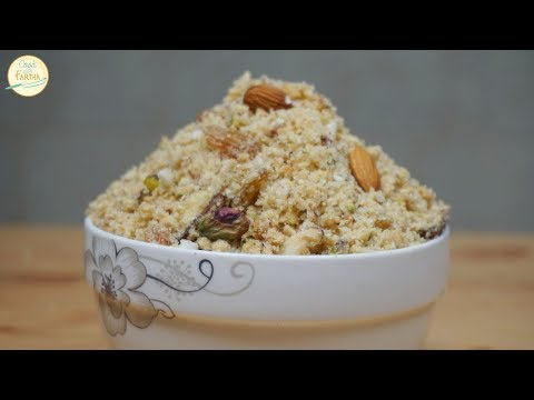 Panjiri Recipe - Healthy & Nutritional Recipe for New Moms | Cook With Fariha (2017)