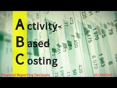 Activity Based Costing | Financial Reporting Decisions| US CMA Part 1| US CMA course | US CMA Exam