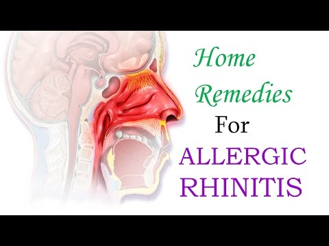 Cure Allergic Rhinitis, Hay Fever, Nasal Congestion For Good😊With These Simple Home Remedies
