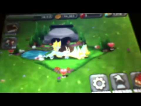 How to get the moon, sun, or rainbow dragon on dragonvale