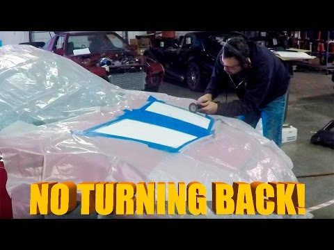 CUTTING UP MY HOOD! - More FRS Changes!
