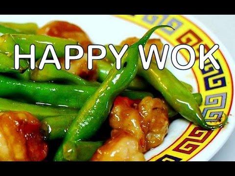 蝦蠔油綠豆 Stir Fry: Shrimp with Green Beans in Oyster Sauce : Authentic Chinese Cooking