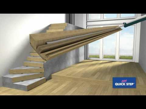 Quick-Step Incizo stair profile installation