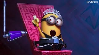 The First Purple Minion Making  -  Despicable me 2   Hd