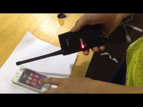 Mini RF Signal detector, bug detector, cellphone detector, spy device detector