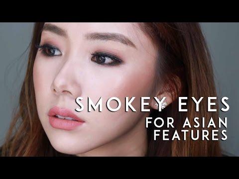 SMOKEY EYE LOOK FOR ASIAN EYES | MONGABONG