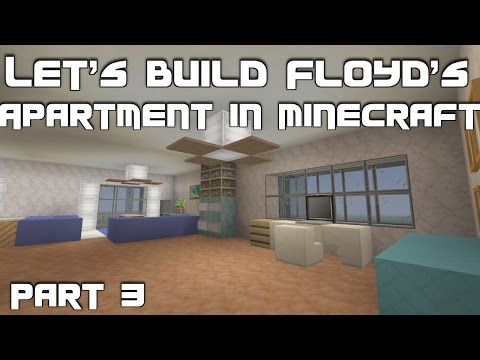 Let's Build Floyd's Apartment (Trevor's Safehouse) from GTA 5 in Minecraft: Part 3